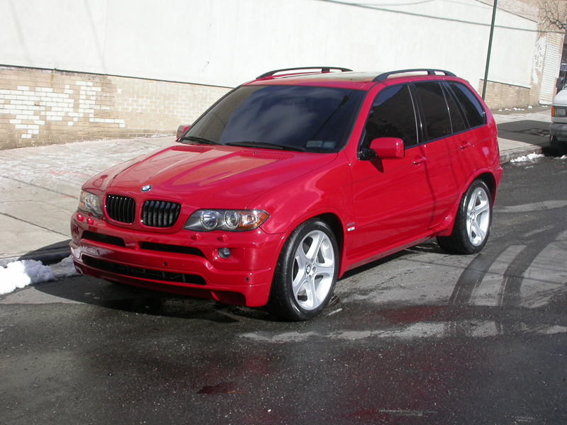 Lowering An X5