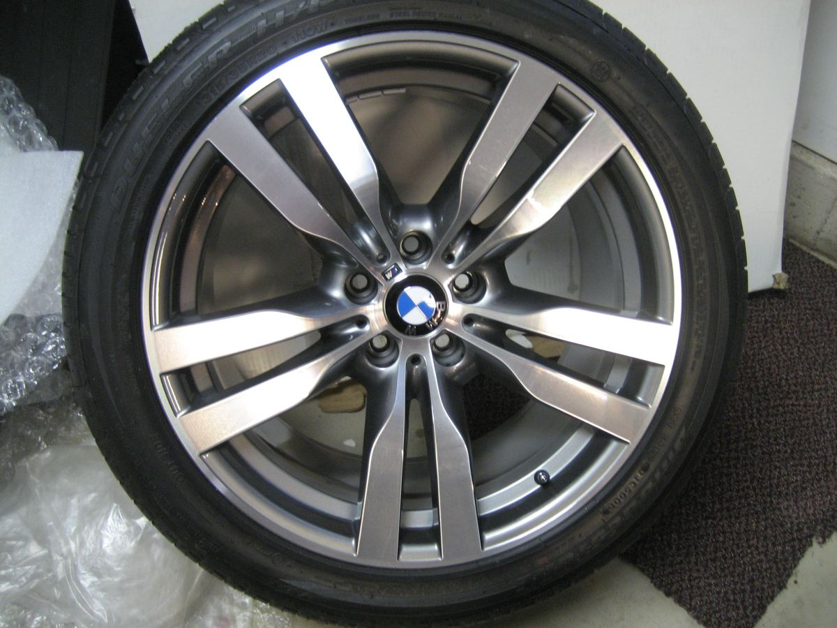 Fs X6m Style 300m Bmw Wheels Set With Run Flat Tires And